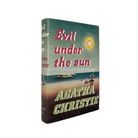 Evil Under the Sun by Agatha Christie First Edition The Crime Club by Collins 1941